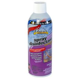 12 Units of Disinfectant Spray 6oz Country Rain Aerosol - Cleaning Products