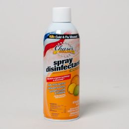 12 Units of Disinfectant Spray 6oz Citrus Aerosol - Cleaning Products