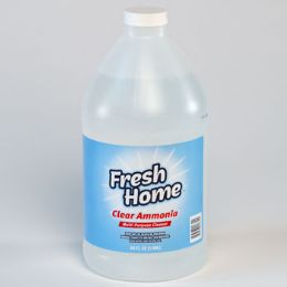 8 Units of Ammonia 64 Ounce Clear Cleaner Fresh Home - Cleaning Products