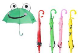 36 Units of Children's Assorted Umbrellas - Umbrellas & Rain Gear