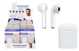 16 Units of Bluetooth Wireless Earbuds With Charging Base - Headphones and Earbuds