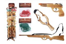 Wood Shooter Toy With Free Wood Display - Cars, Planes, Trains & Bikes