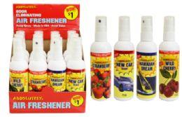 96 Units of Air Freshener Spray - Air Fresheners