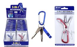 18 Units of Bottle Opener And Screwdriver Keychain - Key Chains