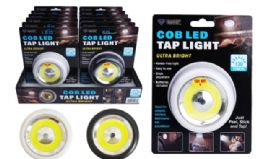 24 Units of Cob Led Tap Light - Lamps and Lanterns
