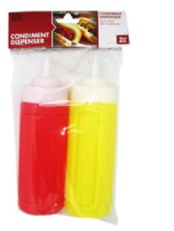 24 Units of Condiment Dispensers 2 Pack - Kitchen Gadgets & Tools