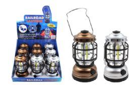 9 Units of Dimmable Cob Led Railroad Lantern - Flash Lights