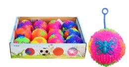 24 Units of Flashing Yo Yo Ball Butterfly Pattern - Balls