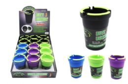 15 Units of Glow In The Dark Cigarette Butt Bucket - Ashtrays