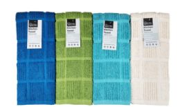 24 Units of Kitchen Towel Checkered - Kitchen Towels
