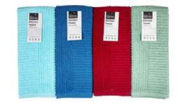 24 Units of Kitchen Towel Striped - Kitchen Towels