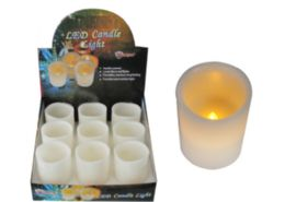 18 Units of Large Wax Led Candle - Lamps and Lanterns