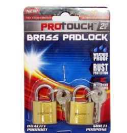 24 Units of Brass Padlock - Padlocks and Combination Locks