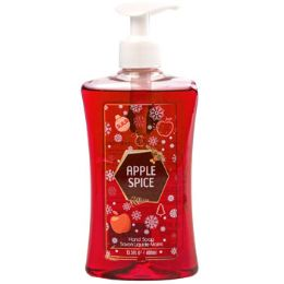 12 Units of Soap Liquid Christmas With Pump Apple Spice - Soap & Body Wash