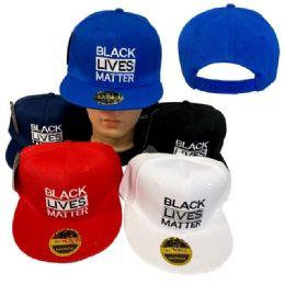 24 Units of BLACK LIVES MATTER Snap Back Hat - Baseball Caps & Snap Backs