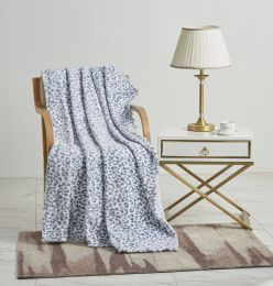 12 Units of Leo Oversized Throw Blanket On Hanger - Micro Plush Blankets
