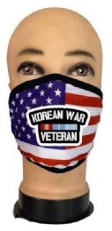 24 Units of Flag Style Face Mask Korean War Venteran - PPE Mask