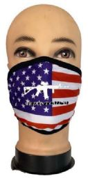 24 Units of Flag Style Face Mask We Don't Call 911 - PPE Mask