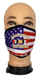 24 Units of Flag Style Face Mask Iraqi Veteran - PPE Mask