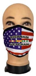 24 Units of Flag Style Face Mask Vietnam Veteran - PPE Mask