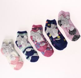 36 Units of ALEXA ROSE MOMMY AND ME BUTTER SOCKS SET - Girls Ankle Sock