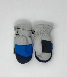 24 Units of TODDLER WINTER SKI MITTENS - Kids Winter Gloves