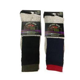 48 Units of Mens Outdoor Sock - Mens Thermal Sock