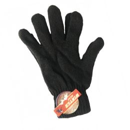 72 Units of MENS MAGIC GLOVES - Knitted Stretch Gloves