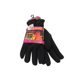 12 Units of MENS POLAR EXTREME HEAT STRETCH LINED GLOVES - Fleece Gloves