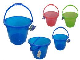 24 Units of Jumbo Pail - Beach Toys