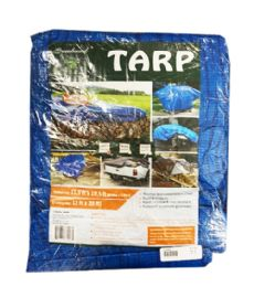 8 Units of 12x20 BLUE TARP - Tarps
