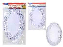 72 Units of Doilies Large Paper 48 Pieces - Placemats and Doilies
