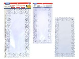 72 Units of Doilies Large Paper 48 Pieces Assorted Size - Placemats and Doilies