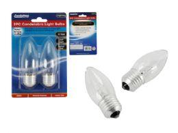 96 Units of 2 Piece Frosted Candelabra Light Bulbs 40 Watts - Lightbulbs