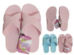 24 Units of Womens Eva Sandals Extra Comfort - Women's Sandals