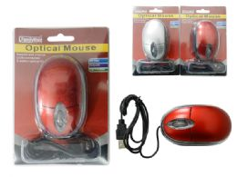96 Units of Optical Usb Mouse - Computer Accessories