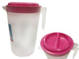 72 Units of Plastic Water Pitcher - Plastic Drinkware