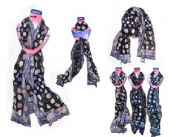 72 Units of Scarf Assorted Color - Womens Fashion Scarves