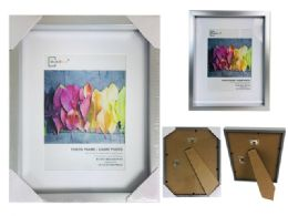 24 Units of Photo Frame Matt Silver Color - Picture Frames