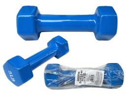 48 Units of Dumbbell Blue Color 3 Pounds - Sports Toys