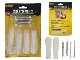 96 Units of 8 Piece Door Stopper And Spring Set - Doors