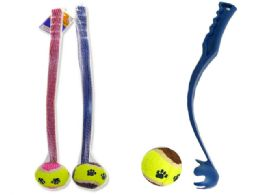 12 Units of Baul Launcher And Tennis Ball - Sports Toys