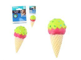 48 Units of Squeaky Pet Toy Ice Cream Cone - Pet Toys