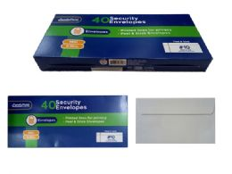24 Units of 40 Piece Security Envelopes Peel And Stick - Envelopes