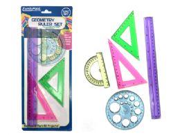 144 Units of Geometry Ruler Set - Rulers