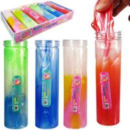 24 Units of Pearl Rainbow Crystal Mud Slime - Slime & Squishees