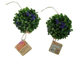 72 Units of Topiary Ball With Flowers - Artificial Flowers
