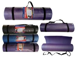 10 Units of Yoga Mat With Strap - Workout Gear