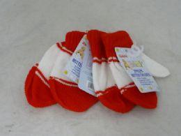 144 Units of Childrens Mittens - Kids Winter Gloves