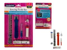96 Units of Sewing Tools 7 Piece Set - Draw String & Sling Packs